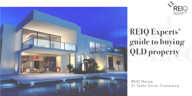 Australian Property Education Event Brisbane REIQ Experts guide to buying property