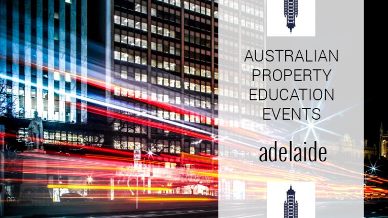 Australian Property Education Events Adelaide
