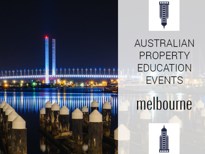 Australian Property Education Events Melbourne