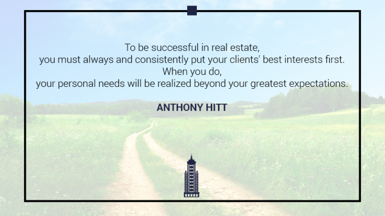 Australian Property Education Property Investment Quotes Anthony Hitt