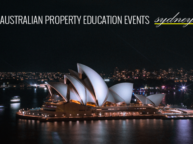 Australian Property Education Events Sydney