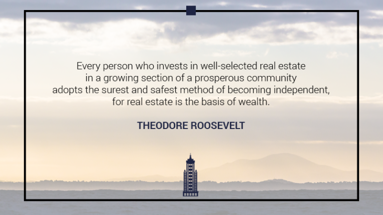 Australian Property Education Property Investment Quotes Theodore Roosevelt